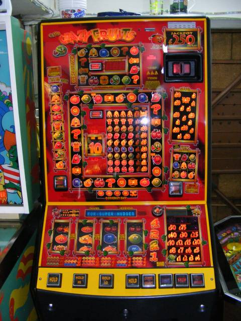 crazy fruits fruit machine